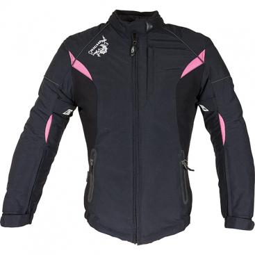 Richa Kayla ladies jkt.black/pink