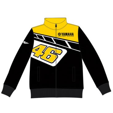 VR46 Yamaha Heritage Fleece BLK/YEL