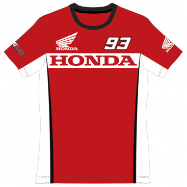 VR46 Honda T-Shirt Ladies Red