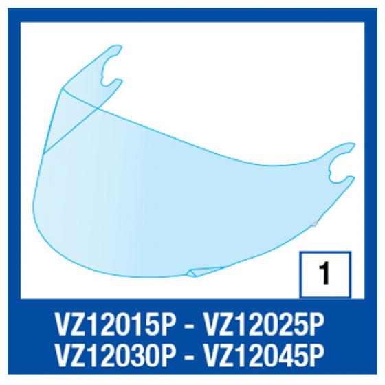 Shark Vision R T/V Visor 50% Tint