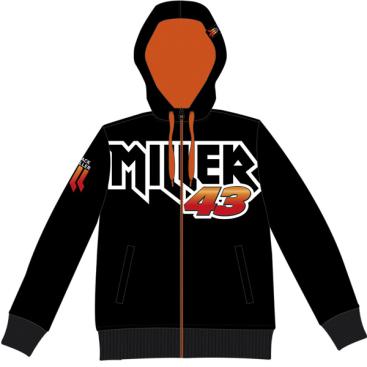 VR46 Jack Miller Fleece Black