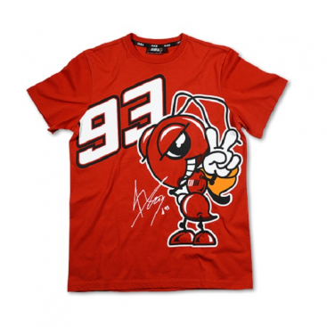 VR46 Marc Marquez T Shirt Red MM93