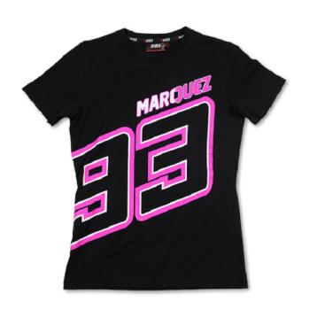 VR46 Marquez T Shirt Lady Blk MM93