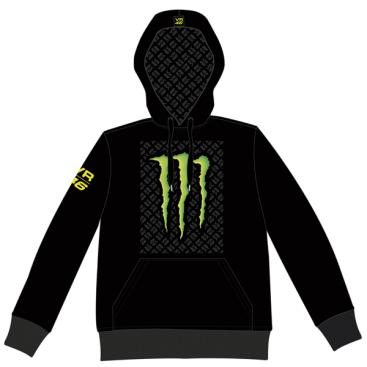VR46 Monster fleece Blk