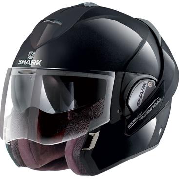 Shark Evoline 3 Helmet BLK