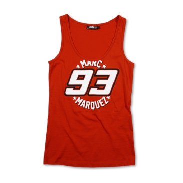 VR46 Marquez Tanktop Lady Red