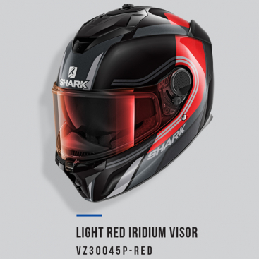 SHARK VISOR A/S LIGHT IRID RE SPARTAN GT