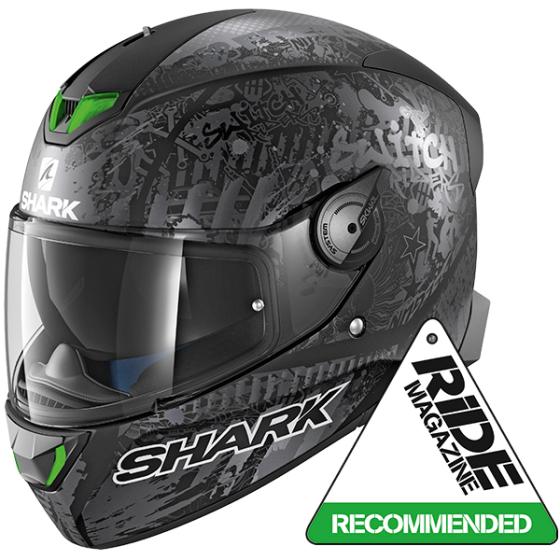 Shark SKWAL 2 SWITCH RIDER 2 MAT KAS (WHITE LED)