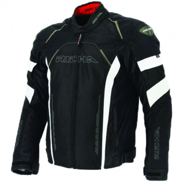 Richa Falcon jkt  Blk/Wht mens