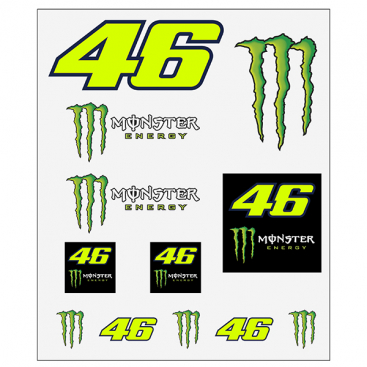 VR46 STICKERS BIG SET DUAL U