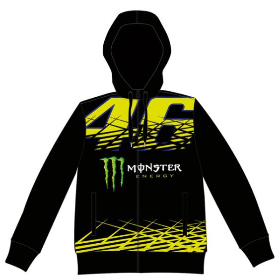 VR46 Monster Monza Fleece Black