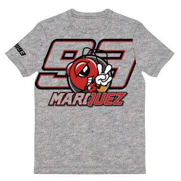 VR46 Marc Marquez T Shirt Grey