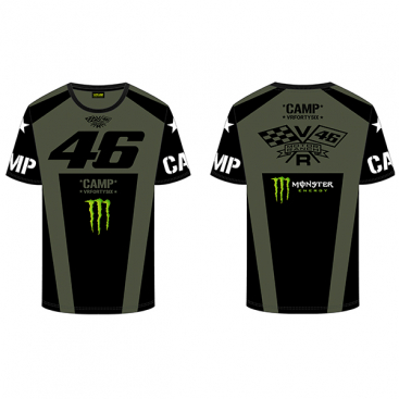 VR46 T-SHIRT CAMP GREEN