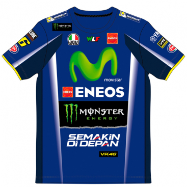 VR46 T-SHIRT REPLICA RACING