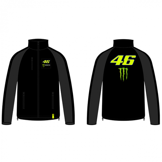 VR46 SOFTSHELL DUAL BLACK