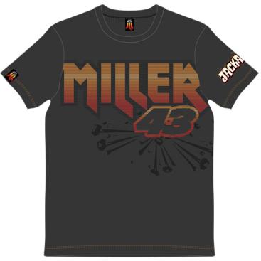 VR46 Jack Miller T-Shirt Grey