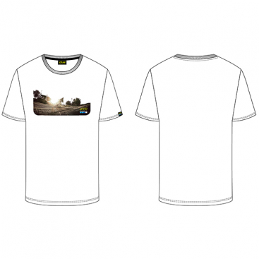 VR46 T-SHIRT 46 GOPRO WHITE