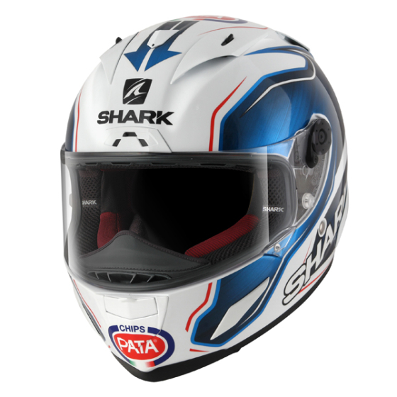Shark  Race R Pro Guintoli Helmet WBK