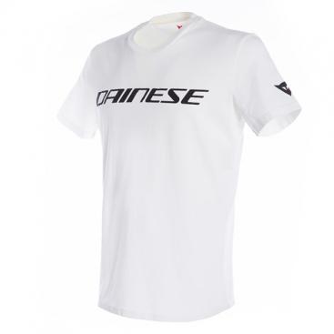 DAINESE DAINESE T-SHIRT 601 WHITE/BLACK
