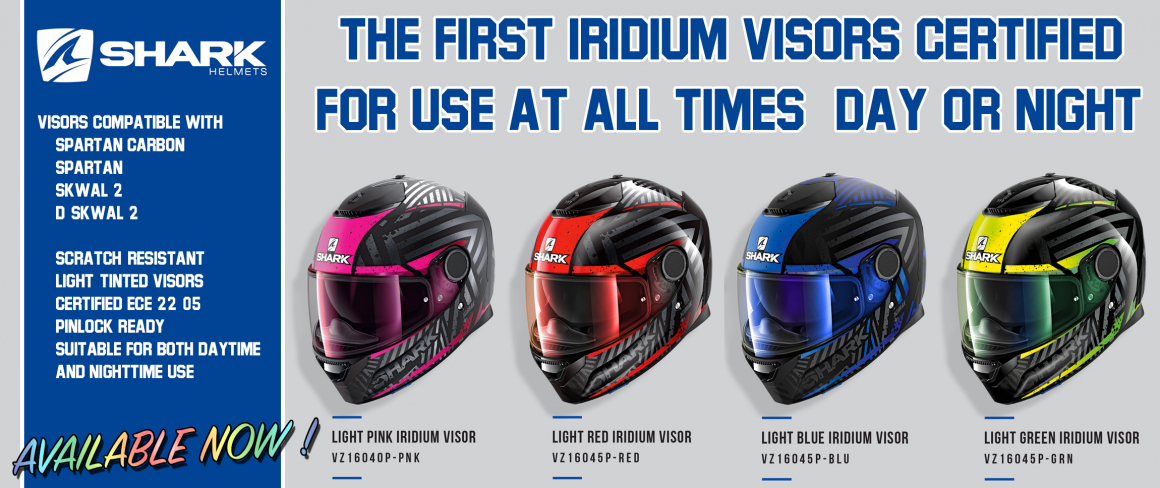 Iridium Visors