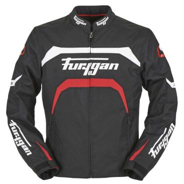 FURYGAN ARROW JKT BLK/WHT/RED