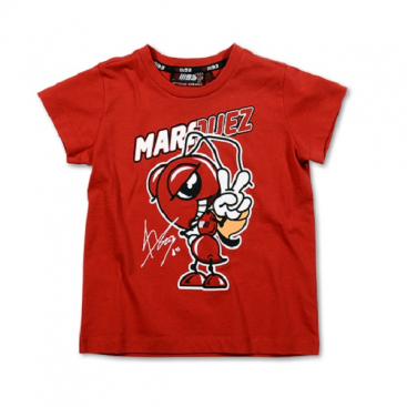VR46 Marquez Kids T Shirt Red