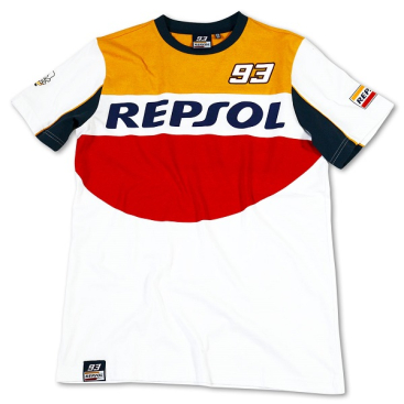 VR46 Repsol 93 Marquez t-shirt white