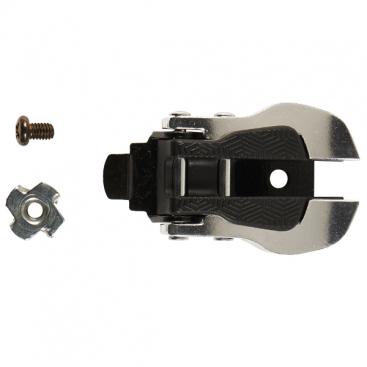 TCX Aluminium + Nylon Buckle Slv/Blk