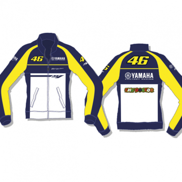 VR46 Yamaha Ladies Fleece Blue