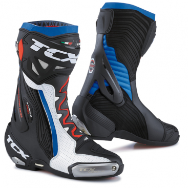 TCX RT-RACE PRO AIR WHT/BLK/BLU