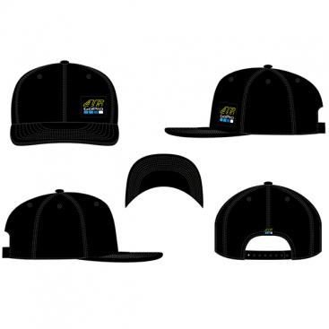VR46 ADJ CAP 46 GOPRO BLACK