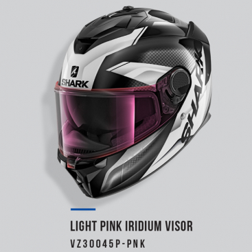 SHARK VISOR A/S LIGHT IRID PK SPARTAN GT