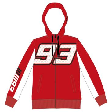 VR46 Marquez Lady Fleece Red
