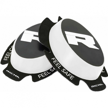 Richa Racing 'R' knee sliders white