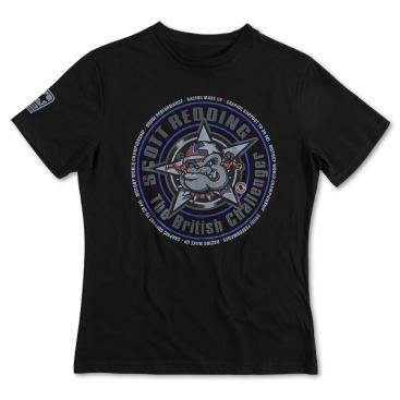 VR46 Scott Redding T Shirt Black