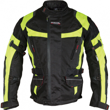 Richa Ridge jkt.blk/fluo yellow S