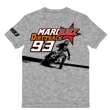 VR46 Marc Marquez T Shirt Blk