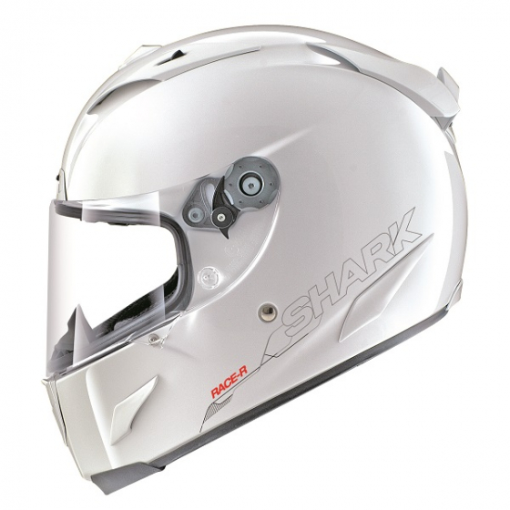 Shark RACE-R PRO helmet Blank WHU