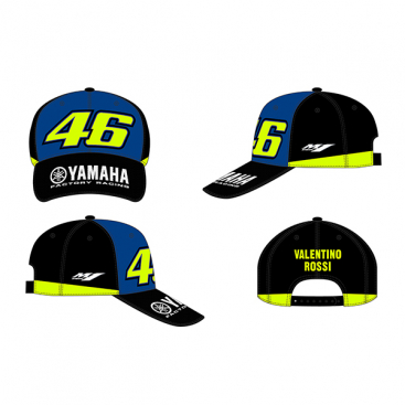 VR46 CAP RACING FLUO YELLOW