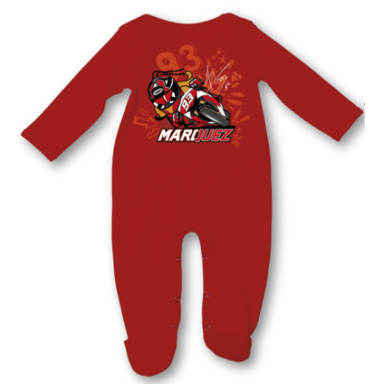VR46 Marquez Baby Overall Red