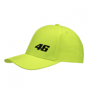 VR46 BASEBALL CAP YELLOW