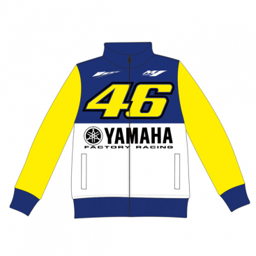 VR46 Yamaha Kids Fleece Blue