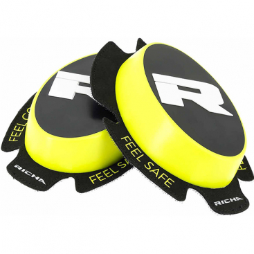 Richa Racing 'R' knee sliders fl/yellow