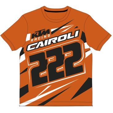 VR46 TONY CAIROLI KTM KIDS T SHIRT