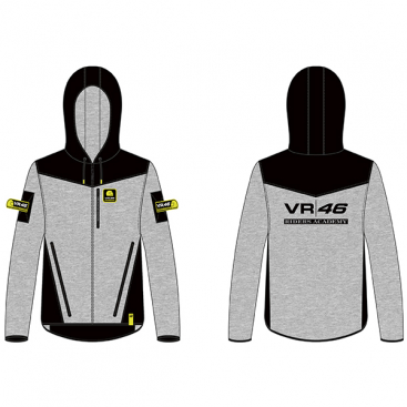 VR46 FULL ZIP HOODIE CORPORATE