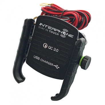 INTERPHONE CRAB - USB FAST CHARGER - SCOOTER ADAPTOR INCLUDED