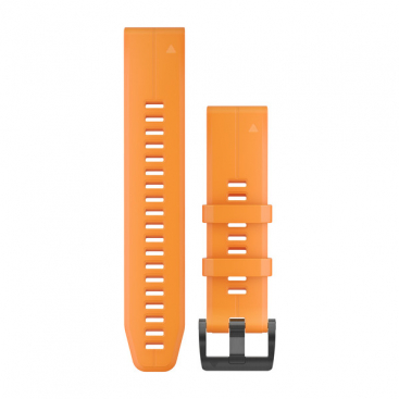 Garmin Solar flare orange silicone band