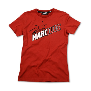 VR46 Marquez T Shirt Lady Red MM93