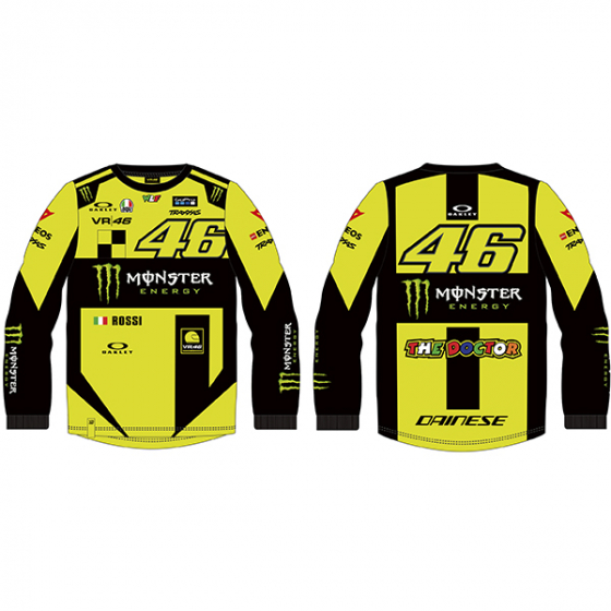 VR46 LONG-SLEEVE T-SHIRT REPLICA