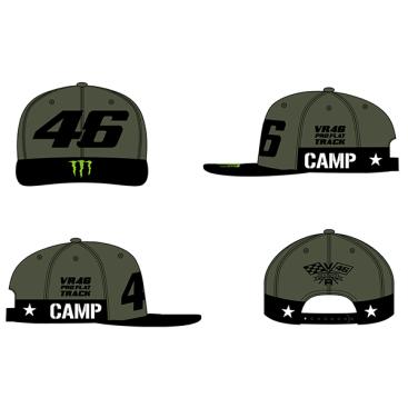 VR46 ADJ CAP CAMP GREEN